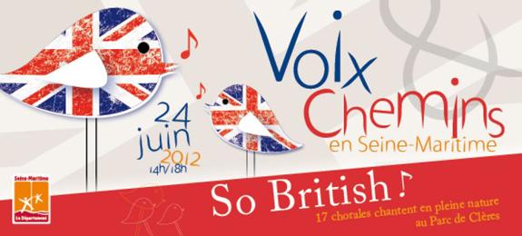 Festival Voix et Chemins à Clères