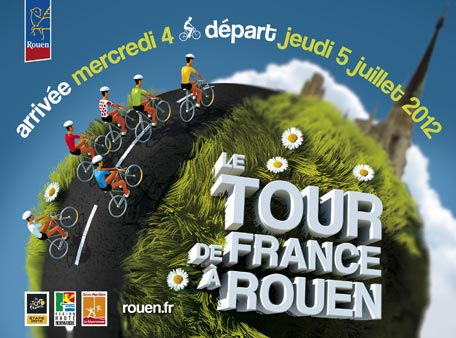 Tour de France 2012 à Rouen
