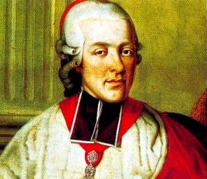 Le prince-archevêque Colloredo
