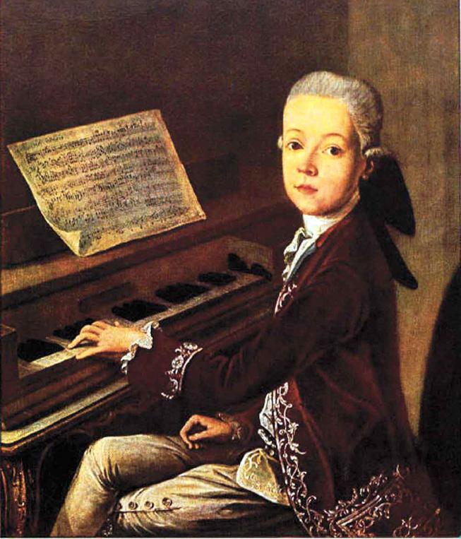 le jeune Mozart