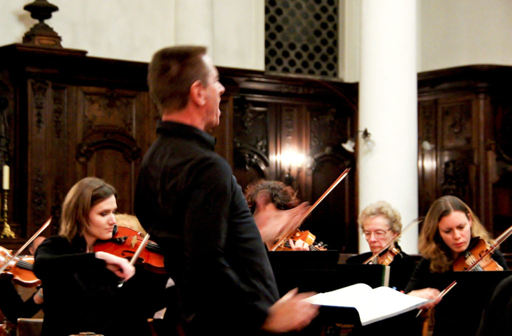 L'Ensemble Amati joue la Messe du Couronnement de Mozart à la chapelle d'Ernemont à Rouen