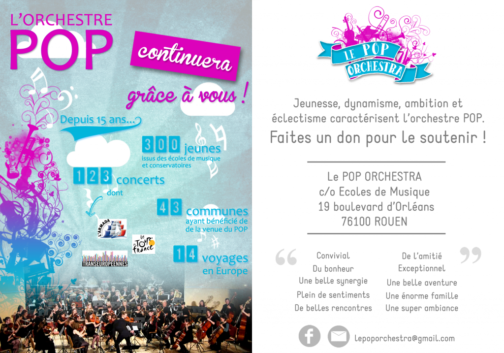 flyer dons privés POP